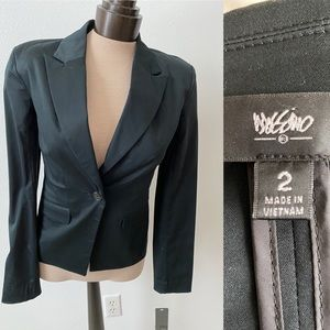 NWT Mossimo black dress blazer size 2